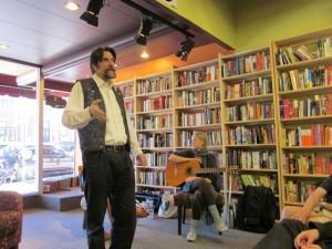 Peter Storytelling in Cedar City, Utah